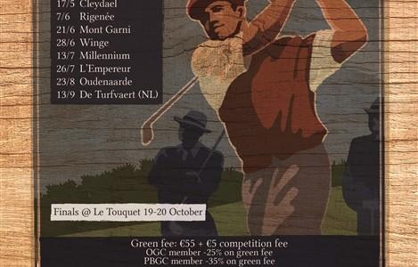 Open Golf Club Trophy
