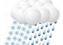 sneeuw-regen