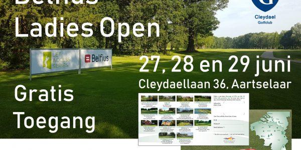 Bezoek de Belfius Ladies Open.